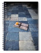 Mouse Trap With Cheese. Spiral Notebook