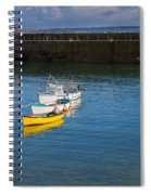 Mousehole Cornwall Spiral Notebook