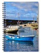 Mousehole Harbour Morning Spiral Notebook