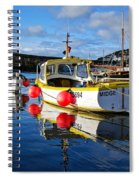 Mousehole Harbour Spiral Notebook
