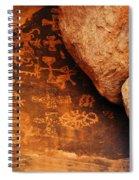 Mouse's Tank Petroglyph Canyon Spiral Notebook