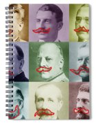 Moustaches Spiral Notebook