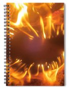 Mouth In The Flame Spiral Notebook