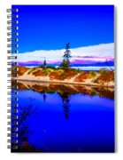 Mouth Of The Two Hearted River Spiral Notebook