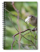 Mouthfull Of Moth Spiral Notebook
