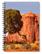 Move Out Of The Way Tree Spiral Notebook