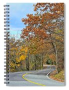 Movin On Down The Road Spiral Notebook