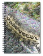 Moving Along Spiral Notebook
