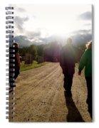 Moving Forward Spiral Notebook