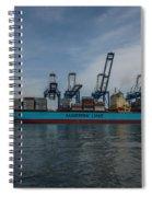 Moving Goods Spiral Notebook
