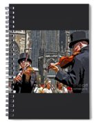 Mozart In Masquerade Spiral Notebook