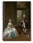 Mr And Mrs Atherton Spiral Notebook
