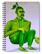 Mr Bean Jeans Spiral Notebook