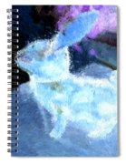 Mr. Blue Bunny Spiral Notebook