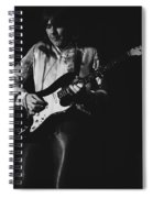 Mick On The Rock And Roll Guitar Spiral Notebook