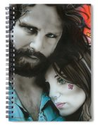 Mr Mojo Risin And Pam Spiral Notebook
