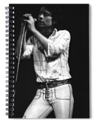 Bad Company Live In 1977 Spiral Notebook