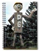 Mr. Pg Spiral Notebook