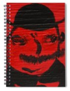 Mr Poldy Bloom Spiral Notebook