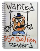Mr. Potato Head Gone Bad Spiral Notebook