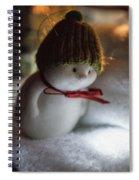 Mr Snowden Likes Lights Spiral Notebook