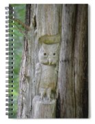 Mr Tingle's Owl Spiral Notebook