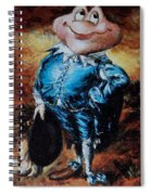 Mr Toad Spiral Notebook