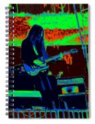 Mrdog # 71 In Cosmicolors Spiral Notebook