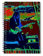 Mrdog # 71 Psychedelically Enhanced Spiral Notebook