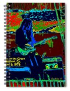 Mrdog # 71 Psychedelically Enhanced W/text Spiral Notebook