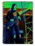 Mrdog #100 Enhanced In Cosmicolors Spiral Notebook