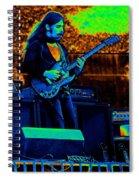 Mrdog #20 In Cosmicolors Spiral Notebook