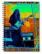 Mrdog #21 In Cosmicolors Spiral Notebook