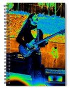 Mrdog #24 In Cosmicolors Spiral Notebook