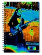 Mrdog #24 In Cosmicolors Crop 2 Spiral Notebook