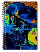 Mrdog #40 In Cosmicolors Spiral Notebook
