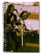 Mrdog #5 Crop 2 With Enhanced Colors Spiral Notebook