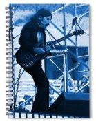 Mrdog #63 Enhanced In Blue Spiral Notebook