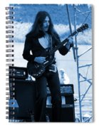 Mrdog #68 Enhanced In Blue Spiral Notebook
