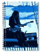 Mrdog #71 Enhanced In Blue Spiral Notebook