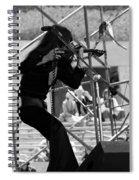 Mrdog #76 Crop 2 Spiral Notebook
