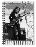 Mrdog #87 Enhanced Bw Spiral Notebook