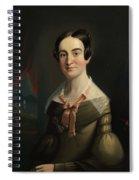 Mrs. Eunice Hall Of Portland, Maine Spiral Notebook