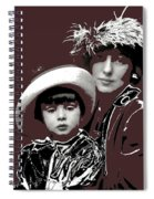 Mrs. Evelyn Nesbit Thaw And Son Arnold Genthe Photo New York 1913-2014 Spiral Notebook