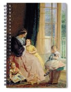 Mrs Hicks Mary Rosa And Elgar Spiral Notebook