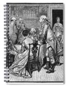 Mrs. Murray And Lord Howe Spiral Notebook