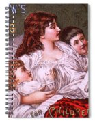 Mrs Winslow's Soothing Syrup Spiral Notebook