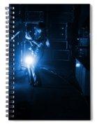 Mrush #33 In Blue Spiral Notebook