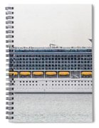 M S Independence Of The Seas Spiral Notebook