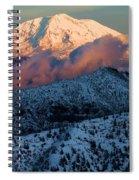 Mt Adams Sunset Spiral Notebook